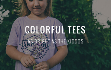 Colorful Tees - As Bright as the Kiddos