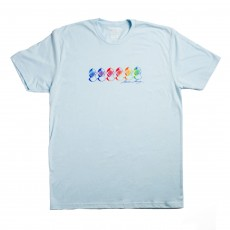 Women's - Watercolor Helmets Tee