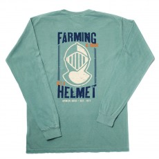 Get A Helmet Long Sleeve Pocket Tee