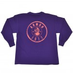 Youth- Girls Armor Circle Logo Long Sleeve Tee