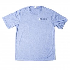 Armor Dri-Fit Tee- Heather Royal