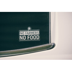 No Farmers - No Food Decal