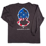 Youth- Patriotic Helmet Long Sleeve Tee